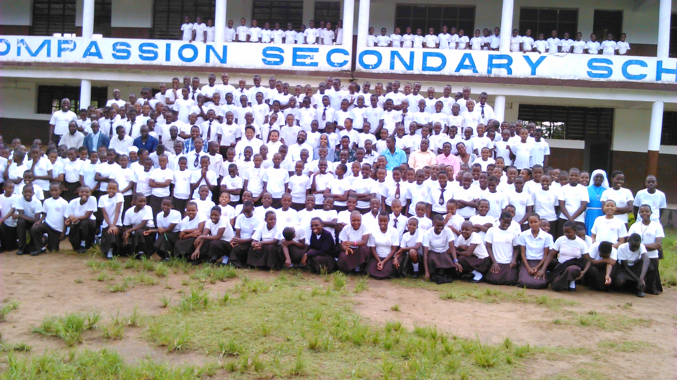 Assumption Secondary School  Students and staff at Msolwa Ujaama in Ifakkara diocese, Tanzania